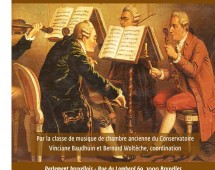 Prochain concert au Parlement bruxellois