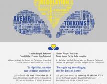 """Colloque """"La régulation, un enjeu pour la Région bruxelloise"""""""